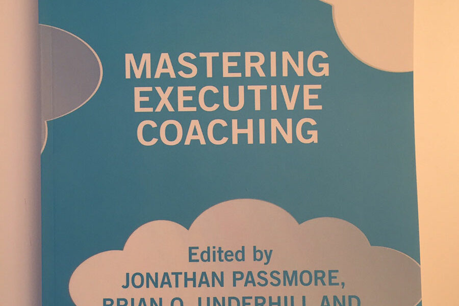 "Publication of ""Mastering Executive Coaching"""