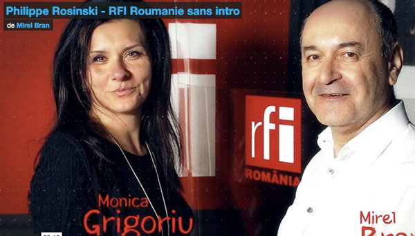 Interview de Philippe Rosinski par Mirel Bran (RFI Roumanie)