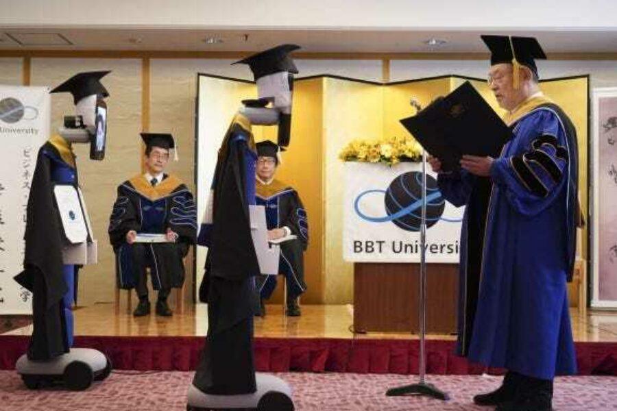Virtual graduation ceremony at my University BBT