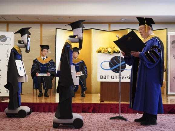 Virtual graduation ceremony at my University BBT